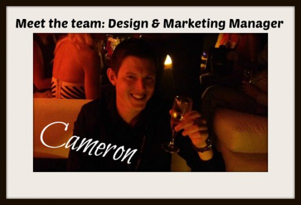 Meet the team: Cameron