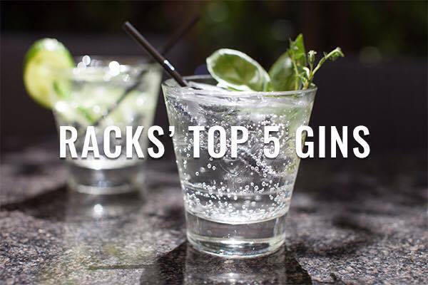 Top Gin at Racks