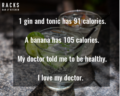 Gin is good for you