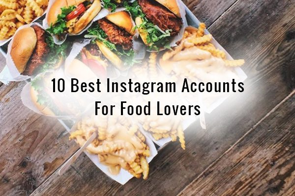 food lovers accounts
