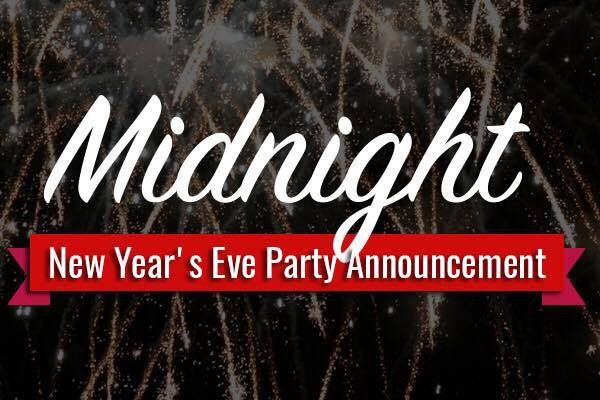 New years Eve Party 2016 announcement