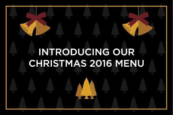 Christmas Menu for 2016